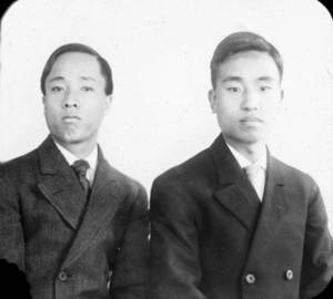 Portrait of Nam Pok Cho and Yiung Sung Min (1907)