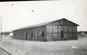 Exterior Y.M.C.A. Hut in Egypt (1917)