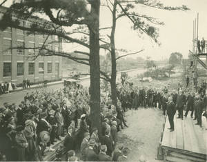 Weiser Hall Cornerstone Laying Ceremony, 1922