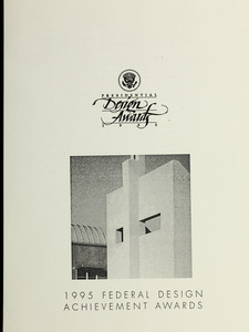1995 federal design achievement awards