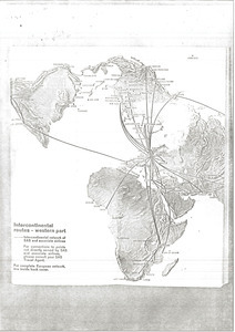 Scandinavian Airlines route maps
