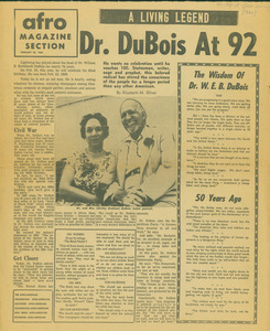 Dr. Du Bois at 92