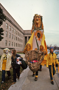 Amy Trompetter's yellow puppet