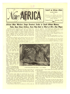 New Africa volume 5, number 9