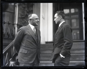 Alvan T. Fuller and Richard E. Byrd