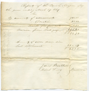 Congregational Church (Westhampton, Mass.): parish records