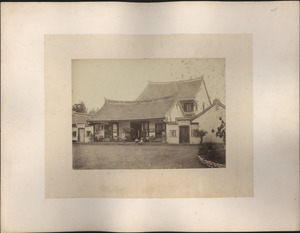 Chinaman's House at Batavia, Java [on Molenvliet]