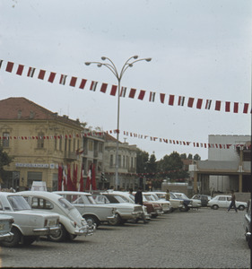"""Banners for """"Ilinden"""" in Bitola"""