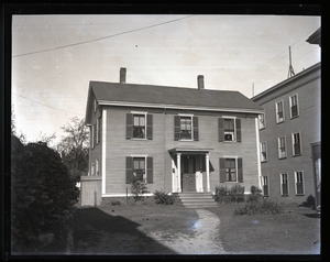 Alfred W. Ingalls' new house