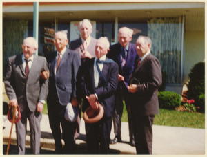 Class of 1911 alumni at their 62nd reunion