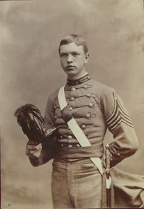 Charles H. Preston in military dress
