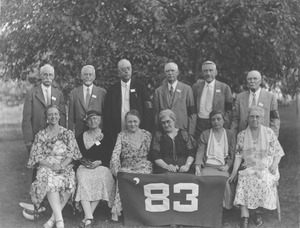 Class of 1883 at 50th reunion