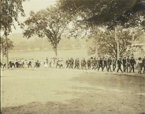 Class of 1910 alumni during their 11th reunion