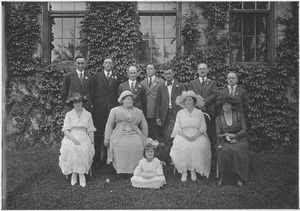 Class of 1907 at 25th reunion