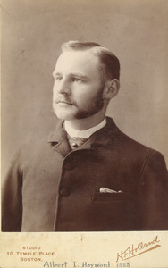 Albert I. Hayward, class of 1888