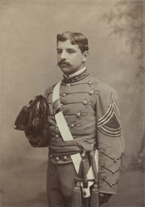 Alfred A. Hevia in military dress