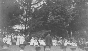 Class of 1897 at commencement