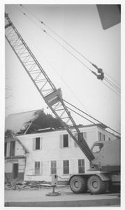 Wrecking of the Mathematics Building (formerly the Entomology Building)