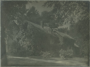 Frances and Mary Allen Collection of Photographs of Deerfield, 1900-1910
