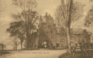 South Dormitory, M.S.C., Amherst, Mass., No. 1478