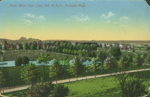 North West, from Clark Hall, M.A.C., Amherst, Mass.
