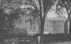 Adams Hall, M.S.C., Amherst, Mass.