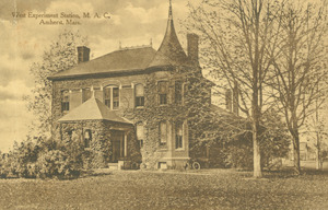 West Experiment Station, M.A.C., Amherst, Mass.