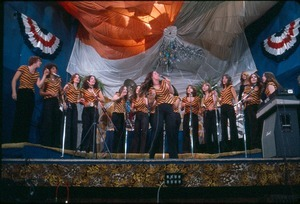 The Choir, middle phase, recording in the theater