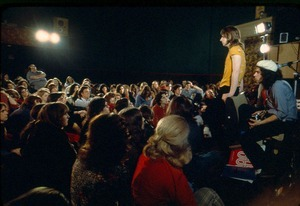 Michael Meeting in the Theater
