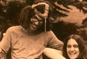 Frank 'Unicorn' Moore and Debbie Havermael