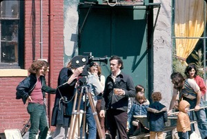 Filming of the 16mm documentary