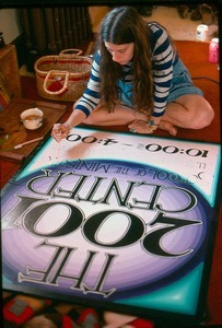 2001 Center sign painted by Alaina Snipper