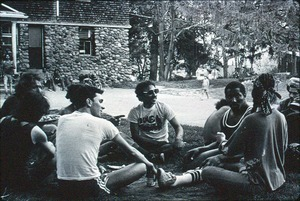ICRY [Inner-City Roundtable of Youth], New York City street gang organization gathering at Lodge