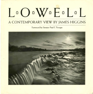 Lowell, A Contemporary View photobook, 1983