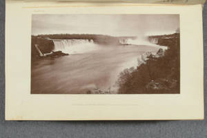 [Heliotype illustrations from photographs in Special report of New York State Survey on the preservation of the scenery of Niagara Falls and fourth annual report on the triangulation of the state for the year 1879]