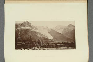 [Heliotype illustrations of glaciers in Illustrations of the earth's surface]