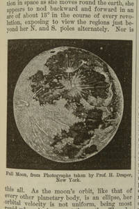 [Leggotype halftones from photographs of the moon in The American cyclopaedia]