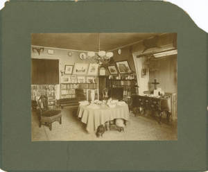 McBurney's Tower Room, c. 1876