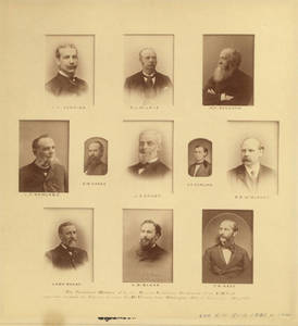 First Secretaries' Conference Members, 1871