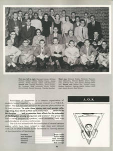 1957 Association of Secretaries Yearbook Photograph