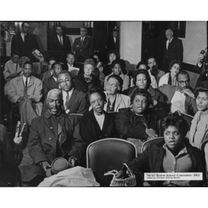 """Sit In"" Boston School Committee."
