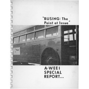 """Busing: The point at issue"""