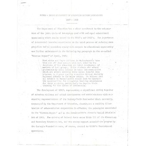 METCO - State Department of Education interrelationships, 1967 - 1968.
