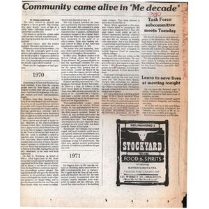 Community comes alive in 'Me Decade'.