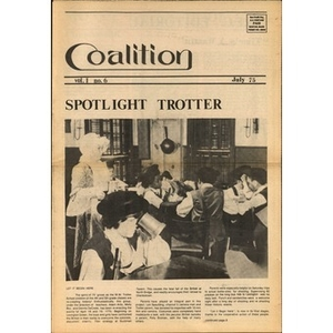 Coalition, Volume 1, Number 6, July 1975.