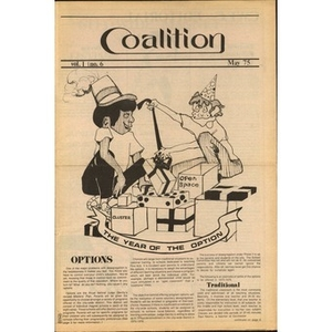 Coalition, Volume 1, Number 6, May 1975.
