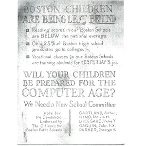 Boston children are being left behind