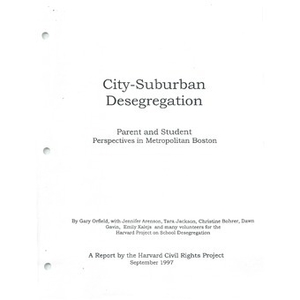 City - suburban desegregation