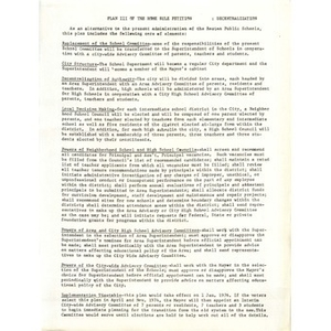Plan III of the home rule petition