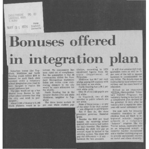 Bonuses offered in integration plan.